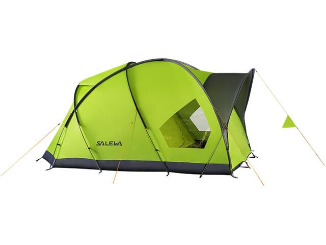 SALEWA Alpine Hut IV Tenda, verde/grigio